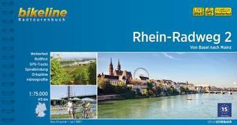Cover-Bild zu Rhein-Radweg 2. 1:75'000