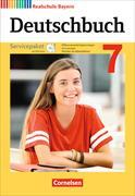 Cover-Bild zu Deutschbuch - Realschule 7. Schuljahr. Neubearbeitung. Servicepaket mit CD-ROM. BY von Bildl, Gertraud
