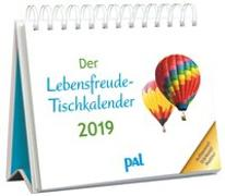 Cover-Bild zu Der Lebensfreude-Tischkalender 2019 von Wolf, Doris