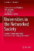 Cover-Bild zu Smyrnova-Trybulska, Eugenia (Hrsg.): Universities in the Networked Society (eBook)