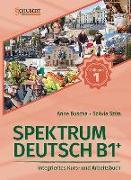 Cover-Bild zu Spektrum Deutsch B1+: Teilband 1 von Buscha, Anne