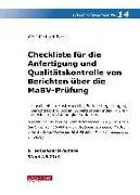 Cover-Bild zu Farr, Wolf-Michael: Checkliste 14 (Berichte MaBV-Prüfung), 6. A