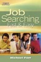 Cover-Bild zu Farr, J. Michael: Job Searching Fast and Easy