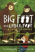 Cover-Bild zu Potter, Ellen: The Squatchicorns (Big Foot and Little Foot #3) (eBook)