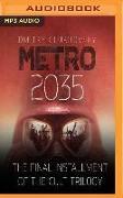 Cover-Bild zu Glukhovsky, Dmitry: METRO 2035 2M