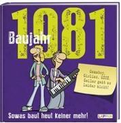 Cover-Bild zu Kernbach, Michael: Baujahr 1981