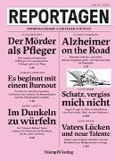 Cover-Bild zu Reportagen - Sonderausgabe Alzheimer Schweiz