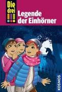 Cover-Bild zu Die drei !!!, 73, Legende der Einhörner
