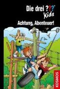 Cover-Bild zu Die drei ??? Kids, 79, Achtung, Abenteuer!