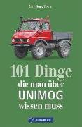 Cover-Bild zu 101 Dinge, die man über UNIMOG wissen muss