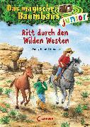 Cover-Bild zu Das magische Baumhaus junior 10 - Ritt durch den Wilden Westen