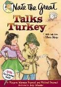 Cover-Bild zu Sharmat, Marjorie Weinman: Nate the Great Talks Turkey: With Help from Olivia Sharp