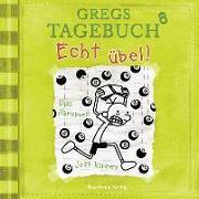 Cover-Bild zu Kinney, Jeff: Gregs Tagebuch 8 - Echt übel!