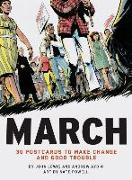 Cover-Bild zu Lewis, John: March: 30 Postcards to Make Change and Good Trouble