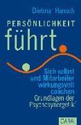 Cover-Bild zu Persönlichkeit führt von Hansch, Dietmar