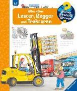 Cover-Bild zu Alles über Laster, Bagger und Traktoren von Erne, Andrea