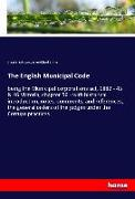 Cover-Bild zu Laws, Great Britain: The English Municipal Code