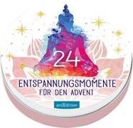Cover-Bild zu 24 Entspannungsmomente für den Advent