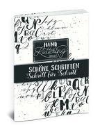 Cover-Bild zu Haas, Katja: Handlettering Übungsheft