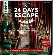 Cover-Bild zu Zhang, Yoda: 24 DAYS ESCAPE - Der Escape Room Adventskalender: Scrooge und die verlorene Weihnachtsgeschichte
