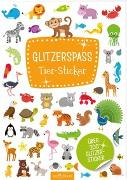 Cover-Bild zu Glitzerspaß Tier-Sticker