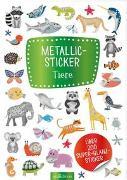 Cover-Bild zu Metallic-Sticker Tiere
