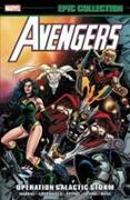 Cover-Bild zu Harras, Bob: Avengers Epic Collection: Operation Galactic Storm