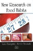 Cover-Bild zu Hasegawa, Kaito: New Research on Food Habits
