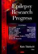 Cover-Bild zu Takahashi, Kaito (Hrsg.): Epilepsy Research Progress