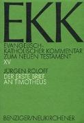 Cover-Bild zu Roloff, Jürgen: Der erste Brief an Timotheus