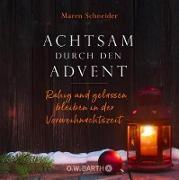 Cover-Bild zu Achtsam durch den Advent (eBook) von Schneider, Maren