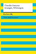 Cover-Bild zu Irrungen, Wirrungen. Textausgabe mit Kommentar und Materialien von Fontane, Theodor