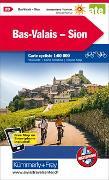 Cover-Bild zu Bas-Valais-Sion Velokarte Nr. 20. 1:60'000 von Hallwag Kümmerly+Frey AG (Hrsg.)