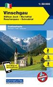 Cover-Bild zu Vinschgau, Ortler-Stilfer Joch, Martelltal, Reschenpass, Schnalstal. 1:50'000 von Hallwag Kümmerly+Frey AG (Hrsg.)