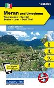 Cover-Bild zu Meran und Umgebung, Texelgruppe, Sarntal, Bozen, Lana, Dorf Tirol. 1:35'000 von Hallwag Kümmerly+Frey AG (Hrsg.)