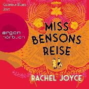 Cover-Bild zu Miss Bensons Reise (Ungekürzte Lesung) (Audio Download) von Joyce, Rachel