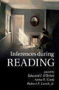 Cover-Bild zu INFERENCES DURING READING von Cook, Anne E. (Hrsg.)