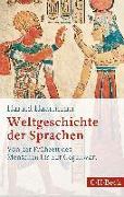 Cover-Bild zu Weltgeschichte der Sprachen von Haarmann, Harald