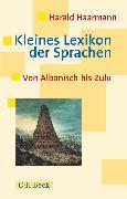 Cover-Bild zu Kleines Lexikon der Sprachen (eBook) von Haarmann, Harald