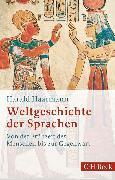 Cover-Bild zu Weltgeschichte der Sprachen (eBook) von Haarmann, Harald