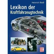 Cover-Bild zu Lexikon der Kraftfahrzeugtechnik von Riedl, Heinrich