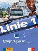 Cover-Bild zu Linie 1 A1.2. Kurs- und Übungsbuch mit DVD-ROM. Schweiz von Kaufmann, Susan