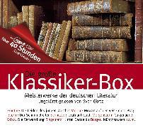 Cover-Bild zu Die große Klassiker-Box (Audio Download) von von Goethe, Johann Wolfgang