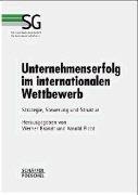 Cover-Bild zu Unternehmenserfolg im internationalen Wettbewerb von Brandt, Werner (Hrsg.)
