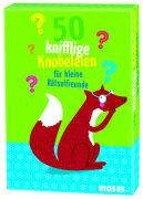 Cover-Bild zu 50 knifflige Knobeleien für kleine Rätselfreunde von Holtforth, Isabel Grosse (Illustr.)