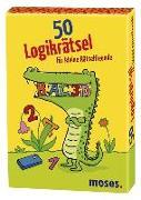 Cover-Bild zu 50 Logikrätsel für kleine Rätselfreunde von Kiefer, Philip