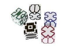 Cover-Bild zu Infinite Design Cube weiß-schwarz von Grégoire, Murith
