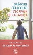 Cover-Bild zu L'Ecrivain de la famille von Delacourt, Grégoire