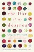 Cover-Bild zu The List of my Desires (eBook) von Delacourt, Gregoire