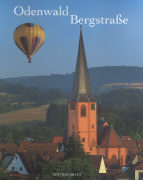 Cover-Bild zu Odenwald Bergstrasse von Hartmann, Gunter